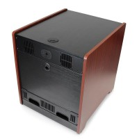 12U WOOD ENCLOSED OFFICE SERVER a