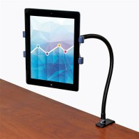TABLET MOUNT WITH GOOSENECK ARM a