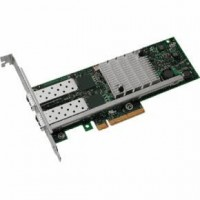 Intel X520 DP - Network adapter - PCIe low profile - 10 GigE - 2 ports - for PowerEdge C6220, R320, R420, R520, R820, VRTX M520, VRTX M620, PowerVault NX3200, NX3300 a