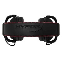 HyperX Cloud Core - Headset - full size - black, red a