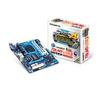 Gigabyte GA-78LMT-USB3 (rev. 4.1) North Bridge: AMD 760G nSouth Bridge: AMD SB710 Socket AM3+ Micro ATX a