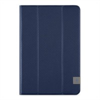 Belkin Tri-Fold Cover - Flip cover for tablet - dark blue a