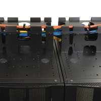RACK ENCLOSURE CABLE TROUGH a