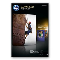 HP Advanced Glossy Photo Paper - Glossy photo paper - 100 x 150 mm - 250 g/m2 - 25 sheet(s) a