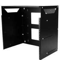 8U WALL-MOUNTABLE SERVER RACK a