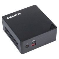 Gigabyte GB-BSi5HA-6200 BGA1356 2.3GHz i5-6200U 0.6L sized PC Black a