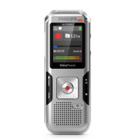 Philips DVT4010 Internal memory & flash card Silver dictaphone a