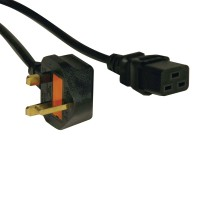 2.43 M UK POWER CORD 13A C19 TO a