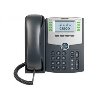 8 Line IP Phone With Display, PoE and PC Port a