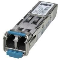 Cisco - SFP (mini-GBIC) transceiver module - Gigabit Ethernet - 1000Base-EX - LC/PC single-mode - up to 40 km - 1310 nm a