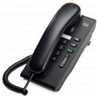Cisco Unified IP Phone 6901 Slimline - VoIP phone - SCCP - charcoal a