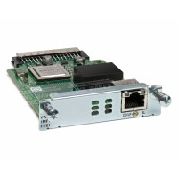 Cisco Third-Generation Multiflex Trunk Voice/WAN Interface Card - Expansion module - EHWIC - T1/E1 x 1 - T-1/E-1 - for Cisco 1921, 1921 4-pair, 1921 ADSL2+, 1921 T1, 1941, 2901, 2911, 2921, 2951, 3925, 3945 a
