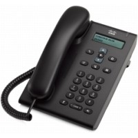 Cisco Unified SIP Phone 3905 - VoIP phone - SIP, RTCP - charcoal a