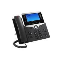 Cisco IP Phone 8861 - VoIP phone - IEEE 802.11a/b/g/n/ac (Wi-Fi) - SIP, RTP, SDP - 5 lines - charcoal a