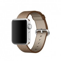 Apple 38mm Woven Nylon Band - Watch strap - caramel, toasted coffee - for Watch (38 mm) a