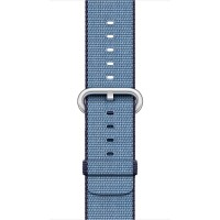 Apple 42mm Woven Nylon Band - Watch strap - navy, tahoe blue - for Watch (42 mm) a