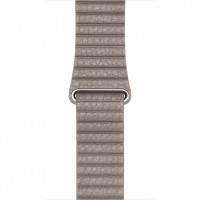 Apple 42mm Leather Loop - Watch strap - smoke grey - for Watch (42 mm) a