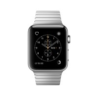Apple Watch Series 2 - 38 mm - stainless steel - smart watch with link bracelet - stainless steel - silver - 135-195 mm - Wi-Fi, Bluetooth - 41.9 g