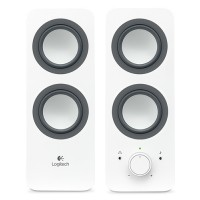 Logitech Speakers  Z200 (Snow White) UK a