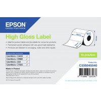 HIGH GLOSS LABEL - DIE-CUT a