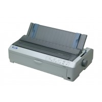 Epson FX-2190N, Dot Matrix Printers, Impact dot matrix, 136 columns, 18 Needles (2 x 9), Bidirectional parallel, USB 2.0 Type B, Type B interface, Ethernet interface (100 Base-TX / 10 Base-T), 20,000 Hours, 400 Million Strokes/Wire, 128 kB included, Windo