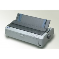 Epson LQ-2090, Dot Matrix Printers, Impact dot matrix, 136 columns, 24 Needles, USB 2.0 Type B, Type B interface, Bidirectional parallel, RS-232 (optional), Ethernet interface (100 Base-TX / 10 Base-T) (optional), 20,000 Hours, 400 Million Strokes/Wire, 1