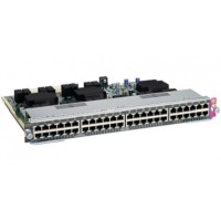 Cisco Catalyst 4500E Series Line Card - Switch - 48 x 10/100/1000 - plug-in module - for Catalyst 4507R-E, 4507R-E Data Bundle, 4507R-E PoE Bundle, 4510R-E a