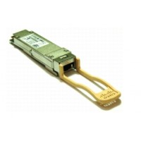 Cisco - QSFP+ transceiver module - 40 Gigabit Ethernet - 40GBASE-SR4 - MPO multi-mode - up to 150 m - 850 nm - for ASR 9000 Series, Nexus 2248PQ 10GE, 3016Q, 3064-E, 3064PQ, 3064-X, 6001 a