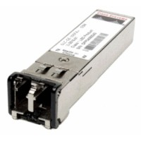 Cisco - SFP (mini-GBIC) transceiver module - Gigabit Ethernet - 1000Base-ZX - LC/PC single mode, LC/PC single-mode - up to 70 km - 1550 nm a