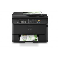 Epson WorkForce Pro WF-4630DWF 4 in 1 business inkjet printer, 4,800 x 1,200 dpi print resolution, 1,200 x 2,400 dpi scan resolution, fax up to 550 pages, copy size A4, Touchscreen, 12 months on site warranty service a