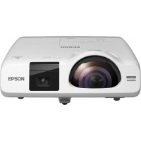 EB-536Wi, Projectors, Short Throw Interactive, WXGA, 1280 x 800, 16:10, HD ready, 3,400 lumen-1,900 lumen (economy), 16,000 : 1, Wireless LAN IEEE 802.11b/g/n (optional), Microphone input, VGA out, Sync. in, Composite in, USB 2.0 Type B, S-Video in, Ether