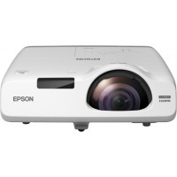 EB-525W, Projectors, Short Throw, WXGA, 1280 x 800, 16:10, HD ready, 2,800 lumen-1,700 lumen (economy), 16,000 : 1, Ethernet interface (100 Base-TX / 10 Base-T), Stereo mini jack audio in (2x), VGA in (2x), Cinch audio in, HDMI in, USB 2.0 Type A, Compone