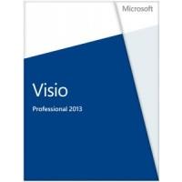 Microsoft Visio Professional 2013, x32/64, 1u, ENG a