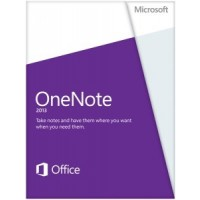 Microsoft OneNote 2013, x32/64, 1u, ENG 1user(s) English a
