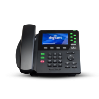Phone,D65, 6-Line SIP HD Voice, Gigabit, W.Headset a