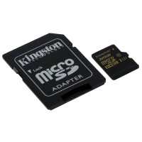 Kingston Technology Gold microSD UHS-I Speed Class 3 (U3) 32GB 32GB MicroSDHC UHS-I Class 3 memory card a