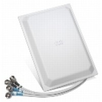 Cisco Aironet Four-Element Dual-Band Omnidirectional Antenna - Antenna - indoor - 802.11 a/b/g - 2 dBi (for 2400 MHz - 2500 MHz), 3 dBi (for 5150 MHz - 5850 MHz) - omni-directional - for Aironet 1250, 1252AG, 1252G a