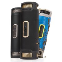 boomBOTTLE+ WATERPROOF SPEAKER (BLACK/GOLD) a