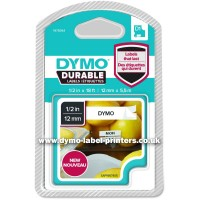 DYMO D1 - Self-adhesive - black on white - Roll (1.2 cm x 5.5 m) 1 roll(s) label tape a