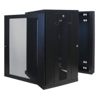 18U WALL MOUNT RACK ENCLOSURE a
