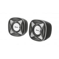 Trust Xilo Compact 2.0 4W Black,Grey loudspeaker a