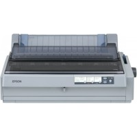 Epson LQ-2190N Dot matrix printer, 24 pins, 136 column, original + 5 copies, 480 cps HSD (10 cpi), Epson ESC/P2 - IBM 2391+ emulation, 14 fonts, 8 Barcode fonts, 4 paper paths, single sheet and continuos paper, paper park, USB 2.0, Parallel and Ethernet I