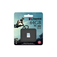 Kingston - Flash memory card - 64 GB - UHS Class 3 / Class10 - microSDXC UHS-I a