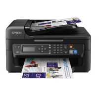 EPSON WorkForce WF-2630WF - 4 in1 A4 Colour Multifunction Inkjet, speed 9 / 4.5 ppm B & W / Color ISO 24734, 100-sheet paper capacity, high speed USB, Wi-fi and fax, Epson Connect, Wi -Fi Direct printing from mobile devices without the need to use a wirel