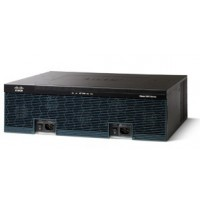 Cisco 3925E Security Bundle - Router - GigE - WAN ports: 4 - rack-mountable a