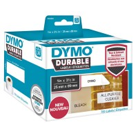 DYMO LabelWriter Address - Adhesive - white - 89 x 25 mm 700 label(s) (2 roll(s) x 350) labels a