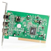 4 PORT IEEE-1394 PCI FIREWIRE a