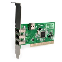3 PORT PCI 1394A FIREWIRE a