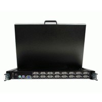 19  FOLDING LCD RACK CONSOLE a