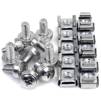 50PKG M6 MOUNTING SCREWS & CAGE a